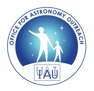IAU Office for Astronomy Outreach logo